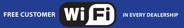 Free Customer Wi-Fi Now Available