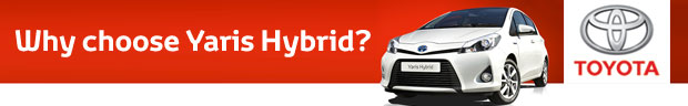 The All New Toyota Yaris Hybrid from only 199 per month