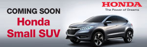 Coming Soon Honda Small SUV
