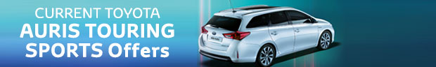 New Auris Touring Sports Hybrid from £179 a month + Great Specification