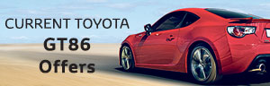 Toyota GT86 from £458 a month + £500 Finance Deposit Allowance + 4.9% APR Representative