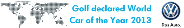 Volkswagen Golf - World Car of the Year 2013