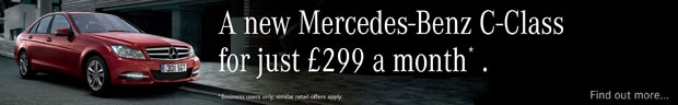 Mercedes-Benz C 180 Executive SE Saloon - now available for £299 per month